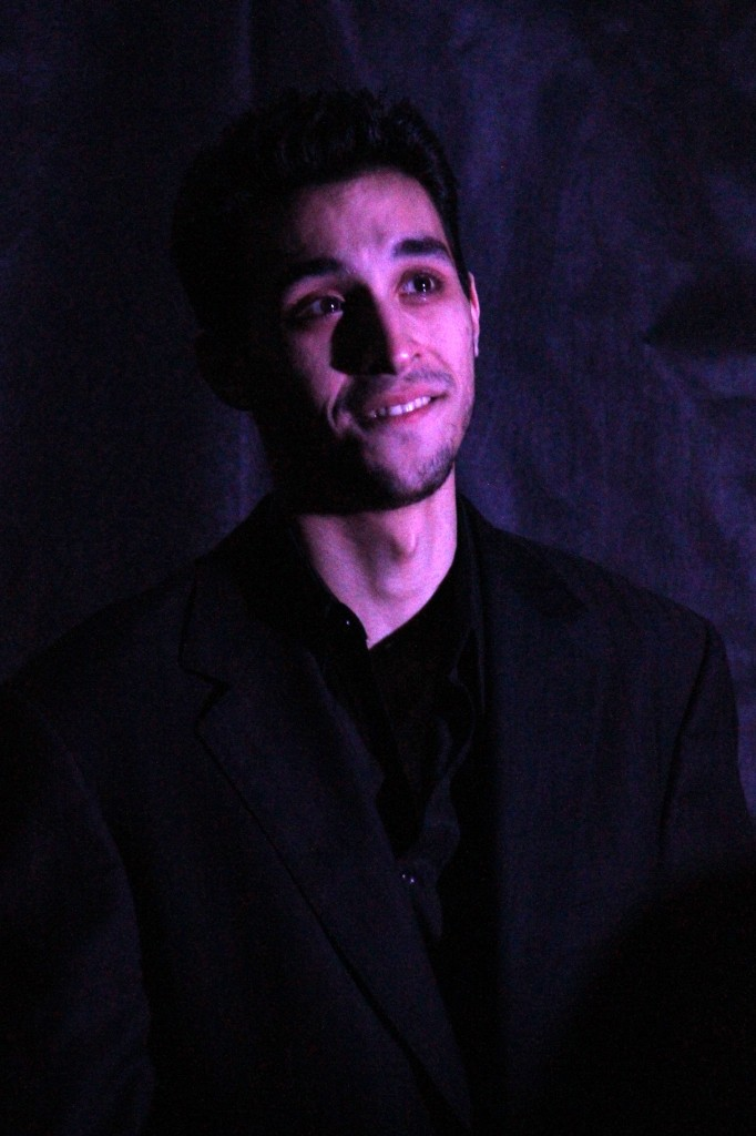 "Michael Pagano in ""Annabel Lee"". Photo by Sue Grieco"