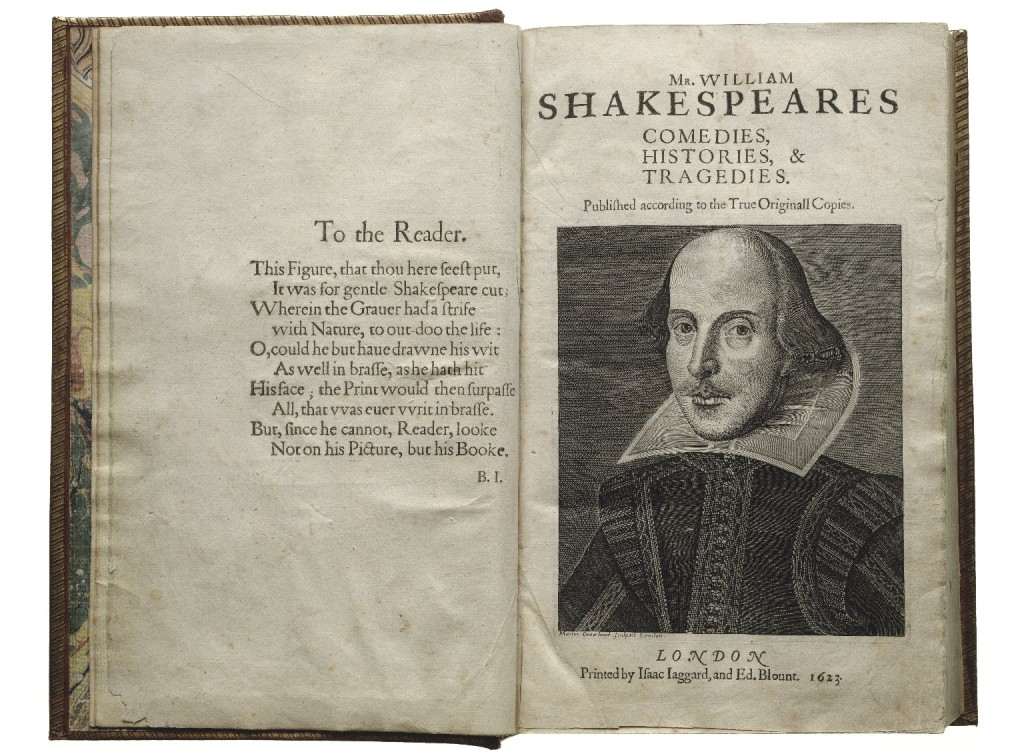 A First Folio of Shakespeare (folger.edu)
